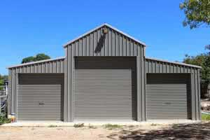 40x60 steel garage building